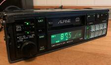 Alpine 7385 M  / vintage / Bmw / need new Lamps