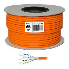 LAN kabel Verlegekabel 100m Kupfer Netzwerk S/FTP Cat 7 Cat7 Cat.7 Installations