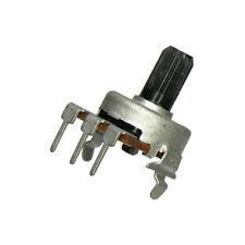 3X 10K Linear Taper Potentiometer w/Center Detent 10% Alps 2A960