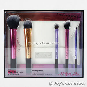 """1 REAL TECHNIQUES Deluxe Makeup Brushes Gift Set """"RT-1439""""  *Joy's cosmetics*"""