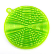 Multi-function Soft Silicone Dish Washing Cleaning Brush Kitchen Cleaner Tool
