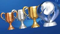 Bo2 Platinum Black Ops Call Of Duty Psn Trophy Trophies PS3 PS4 Vita