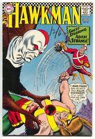 Hawkman 18 1st Series DC 1967 FN VF Hawkgirl Adam Strange Checkerboard