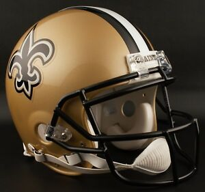 ADRIAN PETERSON Edition NEW ORLEANS SAINTS Riddell AUTHENTIC Football Helmet NFL