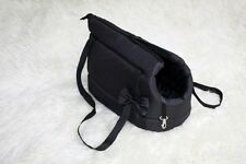borsatrasportatore percane gatto yorkshihtzu nero