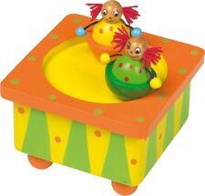 Boîte musicale Boîte à musique Clown 7596 small pied Legler neuf