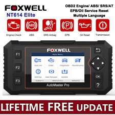 Foxwell NT614 Elite OBD2 EOBD Automotive Code Reader ABS Airbag AT Oil EPB Reset