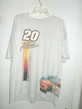 NASCAR #20 TONY STEWART  SHORT SLEEVE T-SHIRT SIZE XL LONG