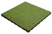 Aslon Rubber Tile - Artificial Grass - 400mm  - Play Areas - Terraces