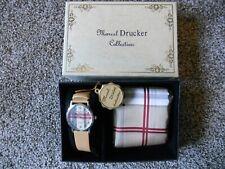 Vintage Marcel Drucker Collection Quartz Ladies Watch with Silk Scaf IOB NOS