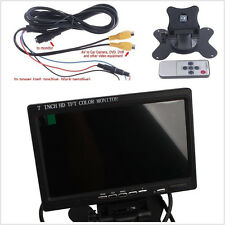 Car 7 inch Color TFT LCD Color Monitor Display Screen Video for Security Camera