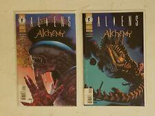 ALIENS ALCHEMY #1-2 DARK HORSE 1997 Richard Corben Arcudi Pound HIGH GRADE