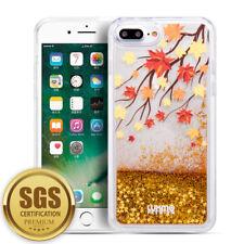 Dynamic Liquid Glitter Quicksand Clear Hard Back Phone Case For iPhone 8 7 Plus