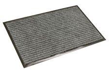 Fußmatte Türmatte Schmutzfangmatte mit Gummirand 40x60cm grau