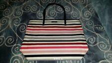 Kate Spade St. Elmo Bon Shopper Daycation Handbag Multi-Color Stripes Brand New!
