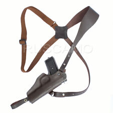 Shoulder holster for Tokarev, Zastava M57, Romanian TTC,  leather, brown
