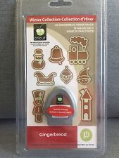 Winter Christmas Gingerbread Cricut Cartridge, New, Sealed, 2010