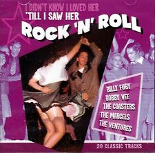 I DIDN'T KNOW I LOVED HER 'TILL I SAW HER ROCK'N'ROLL CD - FREE POST IN UK