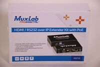 Muxlab 500753-TX HDMI / RS232 over IP Extender Kit Encoder with PoE