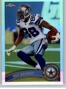 2011 Topps Chrome Refractor #91 Dez Bryant - Dallas Cowboys