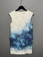 JIGSAW Dress - Size UK10 - White - Great Condition - Women's