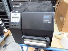 IBM 6700 5504R60 ThermoDrucker EtikettenDrucker Thermo Drucker NETWORK RJ USB
