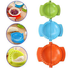 3Pcs Colorful Dumpling Mould Empanada Meat Dough Press Molds Maker Kitchen Tool