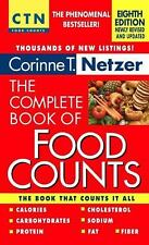 The Complete Book of Food Counts, 8th Edition Netzer, Corinne T. Mass Market Pa