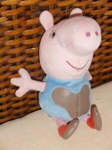 Peppa Pig George Plush Soft Toy. Ty beanie babies (18.5cm) New no tags
