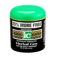 Fantasia IC Herbal Gro Fuerza Maxima cabello y Cuero Cabelludo Tratamiento
