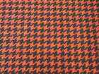 1970 Ford Mustangtorinocobramaverick Red Houndstooth N.o.s Cloth