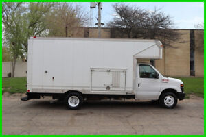 NO RESERVE! Read Description  2009 Ford E-450 14ft Attic Box Truck