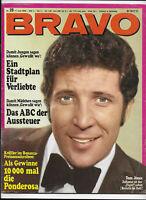 BRAVO Nr.25 vom 17.6.1968 Tom Jones, Peggy March, Jean-Claude Pascal