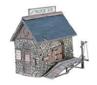 WOODLAND SCENICS Ice House D219 OO Gauge unpainted white metal - free post