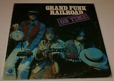 Grand Funk Railroad On Time 1969 US LP ST-307 1969 Mark Farner Don Brewer Oop