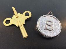 New Sessions Clock Trademark Key and Round Pendulum Bob