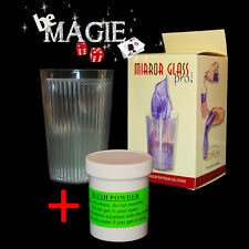 Verre à transformation de soda en foulard PRO + Slush powder - Bazar de magia