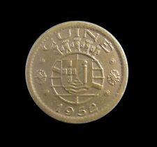 PORTUGUESE GUINEA BISSAU 50 CENTAVOS 1952 KM 8 #7871#