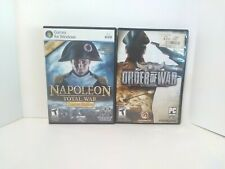 Napoleon Total War Limited Edition & Order Of War PC FREE FAST SHIPPING Complete