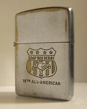 "1954 ZIPPO 18th ALL AMERICAN SOAP BOX DERBY ""OUT OF THIS WORLD"" AUGUST-1955"