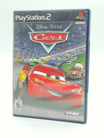 DISNEY Pixar Cars Playstation 2 PS2 CiB Complete TESTED