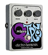new Electro Harmonix Micro Q-Tron envelope filter guitar effect pedal