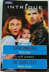 COVERT MAKEOVER and THE CRADLE FILES (2006) Mills & Boon Intrigue