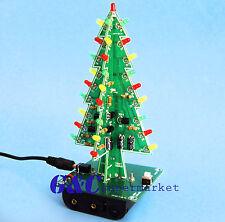 Christmas Trees LED DIY Kit Professional Red Green Flash LED Circui M111