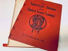 AMERICAN ALBUM FOR US  STAMPS   BOOK  1946 EDITION