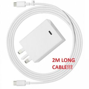 Google Pixelbook Charger UK Adapter+Type-C Cable w16-045n5b 5/9/12/15v-3 20v2.25