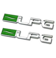 2pcs LPG  Emblem Logo Badge auto aufkleber Metall car Sticker LPG Emblem 3D