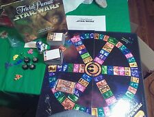 Star Wars Trivial Pursuit Classic Trilogy Collector's Edition 1997 Trivia Game