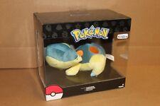 TOMY Pokemon Plush Sleeping Cyndaquil - Toys R Us Exclusive - Rare - NIB