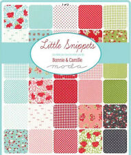 Little Snippets Jelly Roll - Bonnie And Camille Fabric - FREE POST
